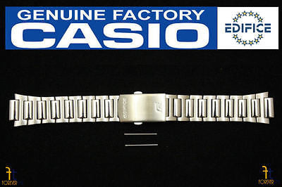 CASIO Edifice EF-500D Original Stainless Steel Watch BAND Strap w/ 2 Pins - Forevertime77