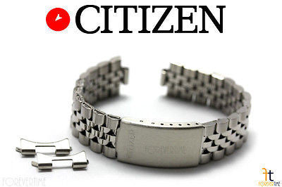 Citizen Original AD5870-50H 18mm Stainless Steel Watch Band Strap AD5990-91A - Forevertime77
