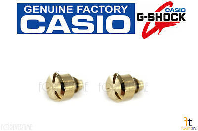 CASIO G-Shock GWF-T1030A-1 Watch Deco Bezel Screw (QTY 2) (Gold Tone) (1H/5H) - Forevertime77