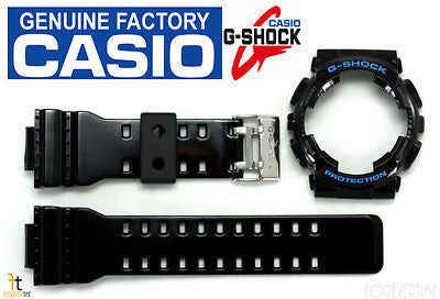 CASIO GA-110HC G-Shock Original Black (Glossy)BAND & BEZEL Combo GD-100HC GD-110 - Forevertime77