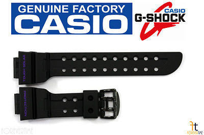 CASIO G-SHOCK FROGMAN GWF-1000BP-1J Black Rubber Watch BAND Strap GF-1000BP-1J - Forevertime77