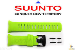 Suunto D4i NOVO ORIGINAL Lime Rubber Watch BAND Strap Kit