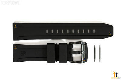 Luminox 5020 SXC XCOR GMT 24mm Black Rubber Watch Band Strap w/ 2 Pins - Forevertime77