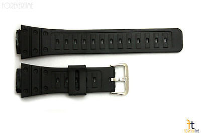18mm Fits CASIO DW-5600C G-Shock Black Rubber Watch BAND Strap DW-5200 DW-5700C - Forevertime77