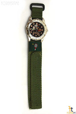 18mm Green Nylon Sport Watch Band Strap Tennis - Forevertime77