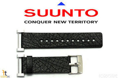 Suunto Core ORIGINAL Black Leather Watch BAND Strap Kit