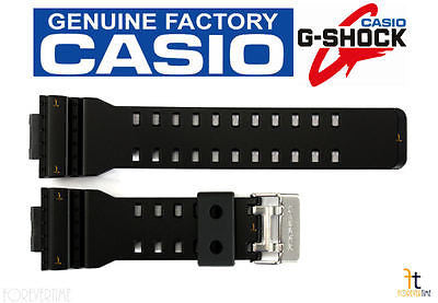 CASIO G-SHOCK GA-100CF Original BLACK Rubber Watch Band Strap GA-100CB GA-100LY - Forevertime77