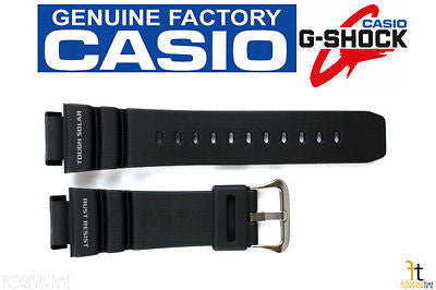 CASIO GW-9100-1V G-Shock Original 21mm Black Rubber Watch BAND Strap - Forevertime77