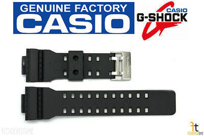 CASIO G-Shock GA-100C-8AW Original Black Rubber Watch BAND Strap GA-110TS-1A4W - Forevertime77