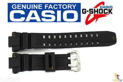 CASIO G-Shock G-1250 Original Black Rubber Watch BAND Strap G-1000 G-1100 G-1500 - Forevertime77