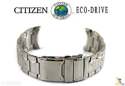 Citizen 59-S06598 Original Replacement Stainless Steel Silver-Tone Watch Band Bracelet - Forevertime77