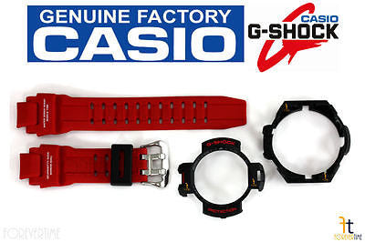 CASIO GA-1000-4B G-Shock Red BAND & Black (Top & Bottom) BEZEL Combo - Forevertime77