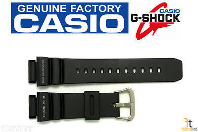CASIO G-Shock G-9100 Original 21mm Black Rubber Watch BAND Strap G-9100-1V - Forevertime77