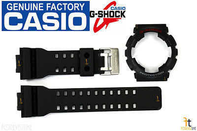 CASIO GA-110-1A G-Shock Original Black BAND & BEZEL Combo - Forevertime77