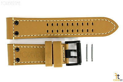 Luminox 1925 1945 Atacama Field 26mm GoldenTan Leather Watch Band w/2 Pins - Forevertime77