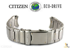 Citizen 59-S06105 Original Replacement 20mm Silver-Tone Stainless Steel Watch Band Bracelet 59-S53198 59-S53408 59-S53155 59-S53197