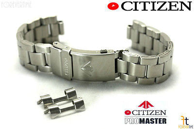 Citizen 59-S05173 Original Replacement 20mm Stainless Steel Silver-Tone Watch Band Bracelet 59-J0609 - Forevertime77