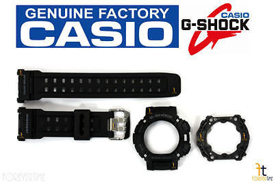 CASIO G-Shock GW-9000 Black BAND & BEZEL (TOP & BOTTOM) Combo GW-9000A GW-9000Y - Forevertime77