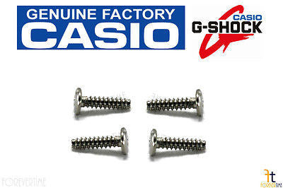 CASIO G-300 G-Shock Case Back SCREW G-301 G-303 G-304 G-314 G-315 (QTY 4 SCREWS) - Forevertime77