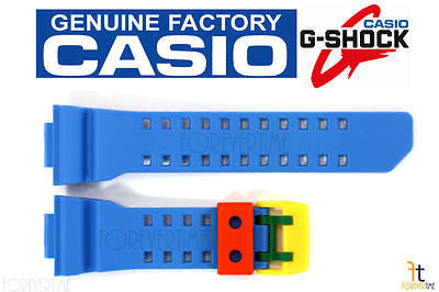 CASIO G-SHOCK GA-400-4A Original Blue Rubber Watch BAND Strap - Forevertime77
