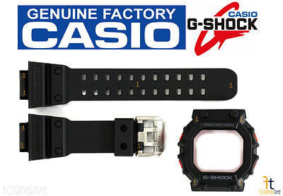 CASIO G-Shock GX-56BB-1 Original Black Rubber Watch BAND & BEZEL Combo - Forevertime77