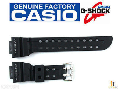 CASIO G-SHOCK FROGMAN GWF-1000 Original Black Rubber Watch BAND Strap GF-1000 - Forevertime77