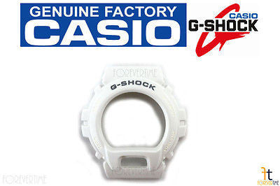 CASIO DW-6900MR-7 Original G-Shock White BEZEL Case Shell - Forevertime77