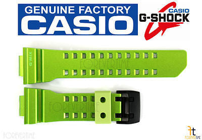 CASIO G-SHOCK G'Mix GBA-400-3BV Original Green Rubber Watch Band Strap - Forevertime77