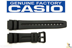 Casio 70622792 Genuine Factory Replacement Black Rubber Watch Band fits AD-300 AW-61 DW-280 DW-290 MD-309 MD-310