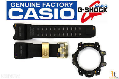 CASIO G-Shock Mudmaster GWG-1000GB Black Rubber Watch Band & Bezel Combo - Forevertime77