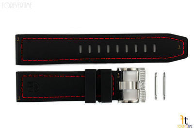 Luminox Coronado 3035 23mm Black Nitrile Rubber Watch Band w/2 Pins 3020 - Forevertime77