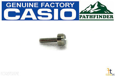 CASIO PAG-240 Pathfinder Original Watch Band SCREW Male PAG-40 PAG-240B - Forevertime77