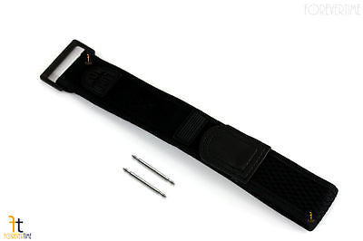 Luminox 3000 Navy Seals 22/32mm Black Nylon Watch Band w/2 Pins 3050 3080 - Forevertime77