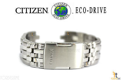 Citizen 59-S04043 Original Replacement Stainless Steel Watch Band Bracelet - Forevertime77