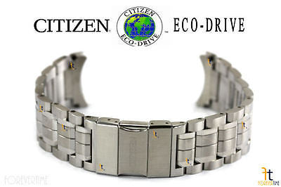 Citizen 59-S05432 Original Replacement Silver-Tone Stainless Steel Signature Watch Band Bracelet - Forevertime77