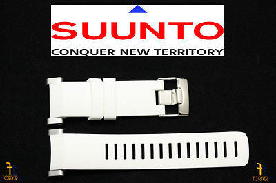 Suunto Core ORIGINAL White Rubber Watch BAND Strap Kit - Forevertime77