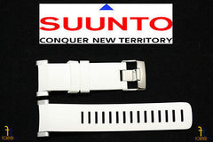 Suunto Core ORIGINAL White Rubber Watch BAND Strap Kit