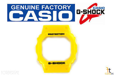 CASIO G-Shock DW-5600FS-9 Original Yellow Rubber Watch BEZEL Case DW-5600P-9 - Forevertime77