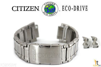 Citizen 59-S05422 Eco-Drive 4-S075173 Stainless Steel Watch Band Strap 4-S076862 - Forevertime77