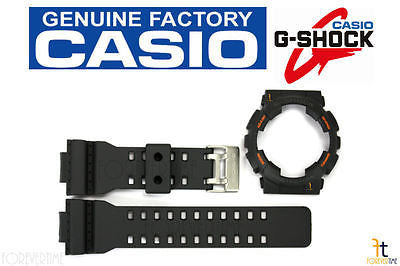 CASIO GA-110TS-1A4 G-Shock Original Charcoal BAND & BEZEL Combo - Forevertime77