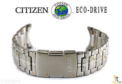 Citizen 59-S04441 Original Replacement Silver-Tone Stainless Steel Watch Band Bracelet - Forevertime77