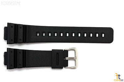 16mm Fits CASIO DW-5600E G-Shock Black Rubber Watch BAND Strap - Forevertime77