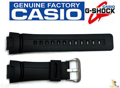 CASIO G-100 G-Shock Black Rubber Watch BAND G-101 G-2310 G-200 G-2300 G-2110 - Forevertime77