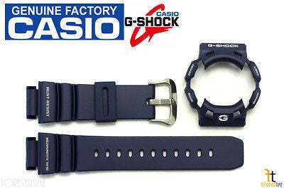 CASIO G-Shock G-9100-2 Original Dark Blue BAND & BEZEL Combo - Forevertime77