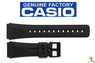 CASIO DBC-30 Original 22mm Black Rubber Watch BAND Strap CMD-40 DBC-63 DBM-150 - Forevertime77