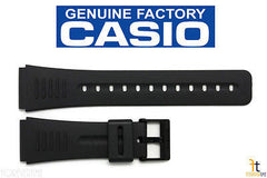CASIO DBC-30 Original 22mm Black Rubber Watch BAND Strap CMD-40 DBC-63 DBM-150