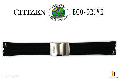 Citizen 59-S53460 Original Replacement Black Rubber Watch Band Strap 59-S52169 - Forevertime77