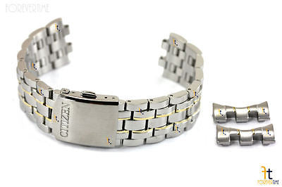 Citizen 59-S04560 Original Replacement Stainless Steel Two-Tone Watch Band Bracelet H570-S074924 - Forevertime77