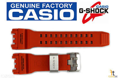 CASIO G-SHOCK Gravity Master GPW-1000-4A Orange Carbon Fiber Resin Watch Band - Forevertime77