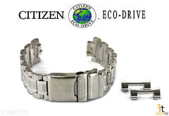 Citizen 59-S06592 Original Replacement Stainless Steel Silver-Tone Watch Band Bracelet